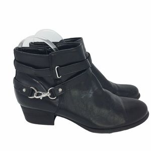 Unisa Buckle Ankle Booties Size 9.5M